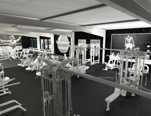 Training in den neuen Räumlichkeiten