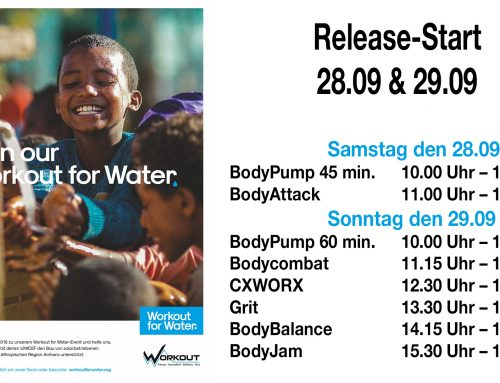 workout for water 28.09 & 29.09